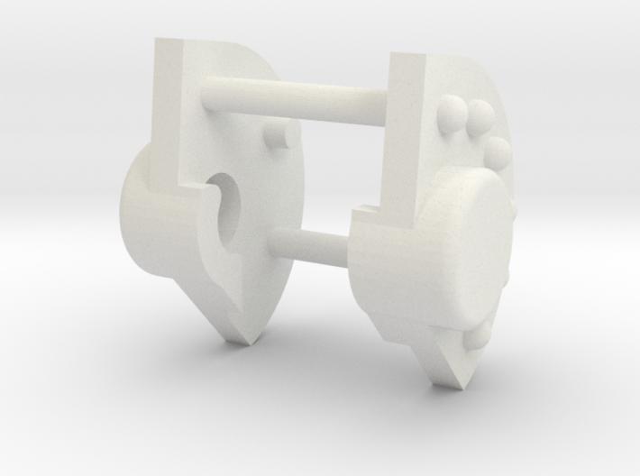 1-25 Katyusha Axle Cap part 3d printed