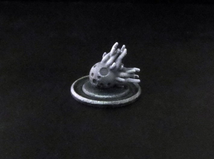 CitOW tokens (6 pcs) - comet 3d printed Hand-painted White Strong Flexible