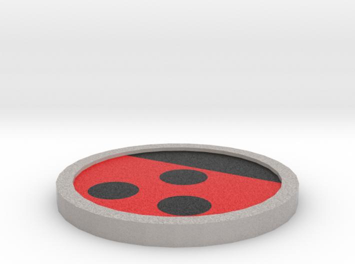 Hive Badge - Johto Pokemon Bagdes 3d printed