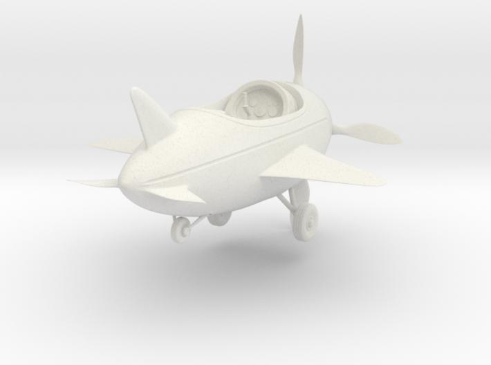 Cartoon Plane(Medium) 3d printed