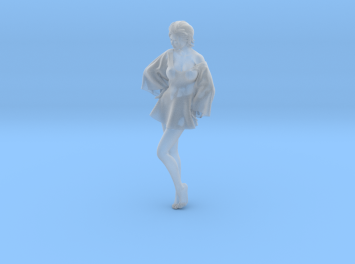 Skirt Girl-005 scale 1/24 3d printed