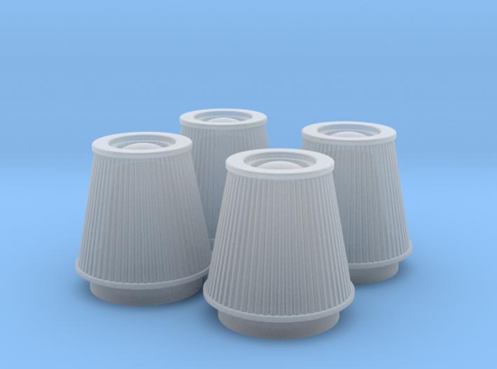 1/16 K&N Cone Style Air Filters TDR 5113 3d printed