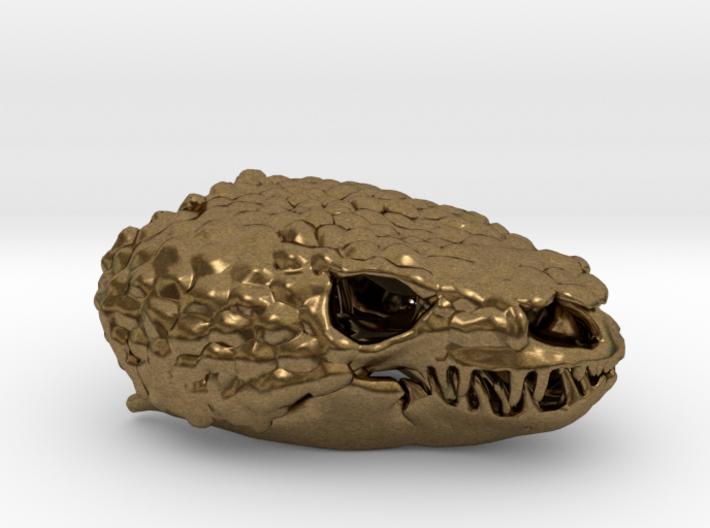 Gila Monster Skull Pendant - 30mm 3d printed