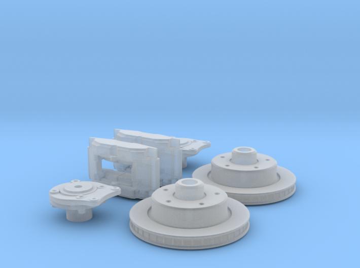 1/16 Rear Disk Brake Setup 3d printed