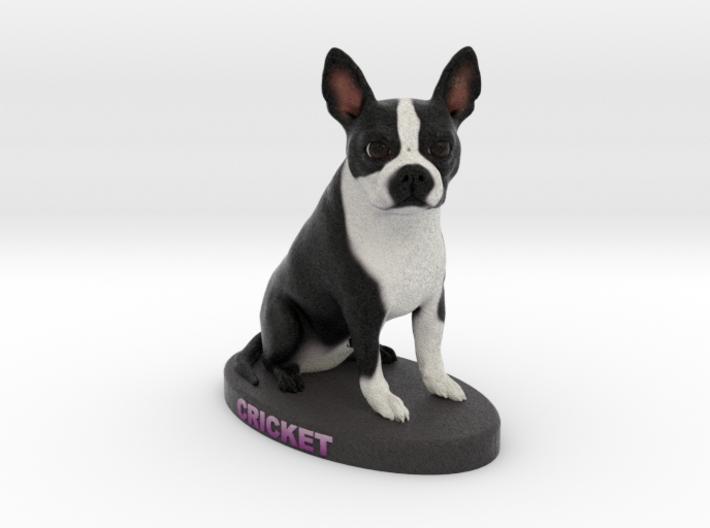 Custom Dog Figurine - Cricket 3d printed