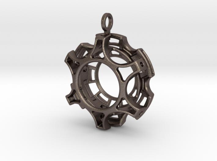 Complex Pendant 3d printed