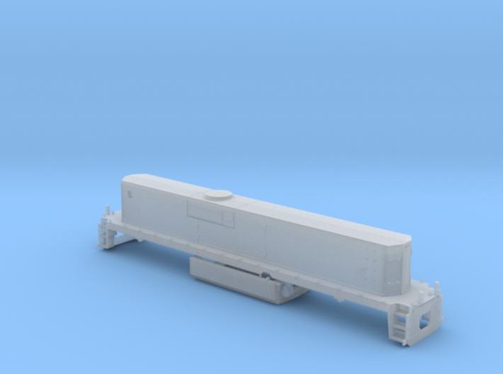UP M-K TEBU Shell - N 3d printed