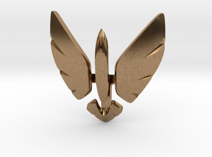 Eagle Jet Moded pendant 3d printed