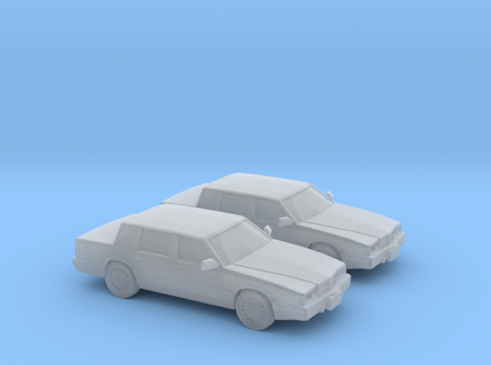 1/160 2X 1993 Chrysler Dynasty 3d printed