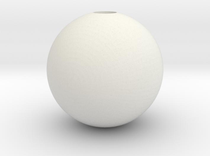 Sphere 1in Hollow 3d printed