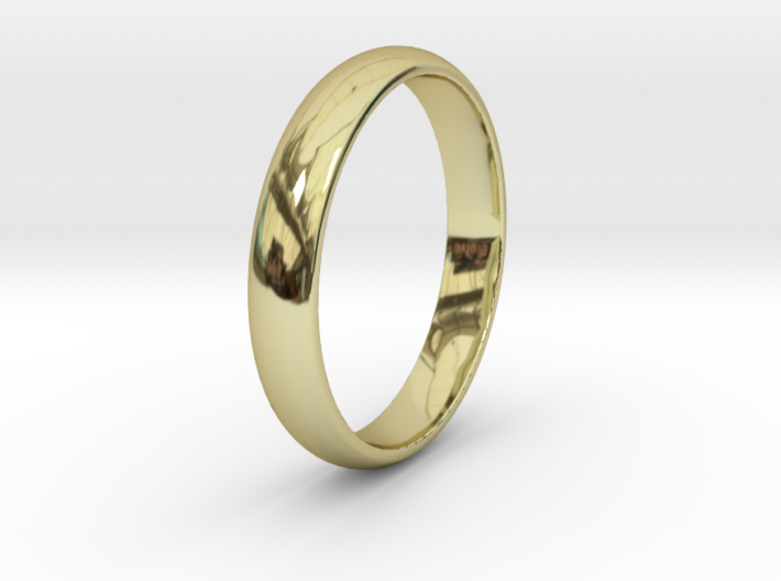 Ring Size 8 1I2 smooth 3d printed