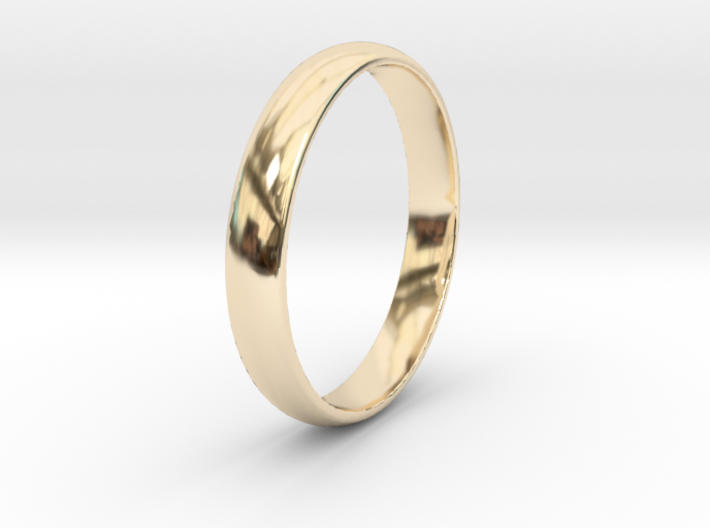 Ring Size 11 1I2 smooth 3d printed