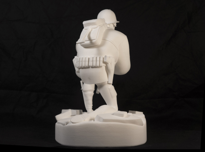 The Soldier (Large) 3d printed