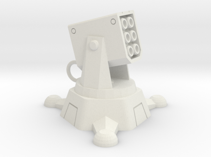 Incendiary Missile Turret 3d printed