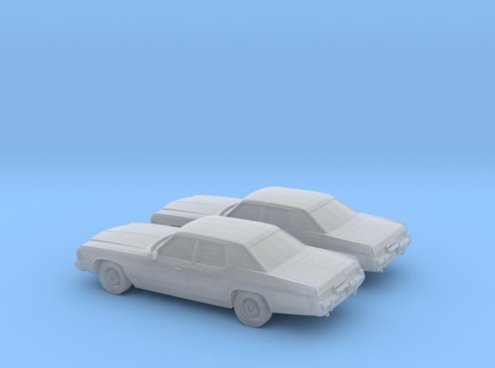 1/160 2X 1974 Dodge Monaco 3d printed
