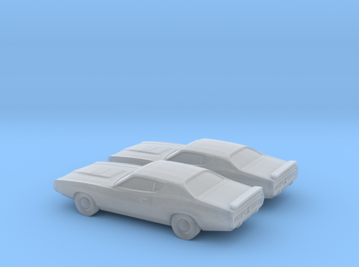 1/160 2X 1974 Dodge Charger 3d printed