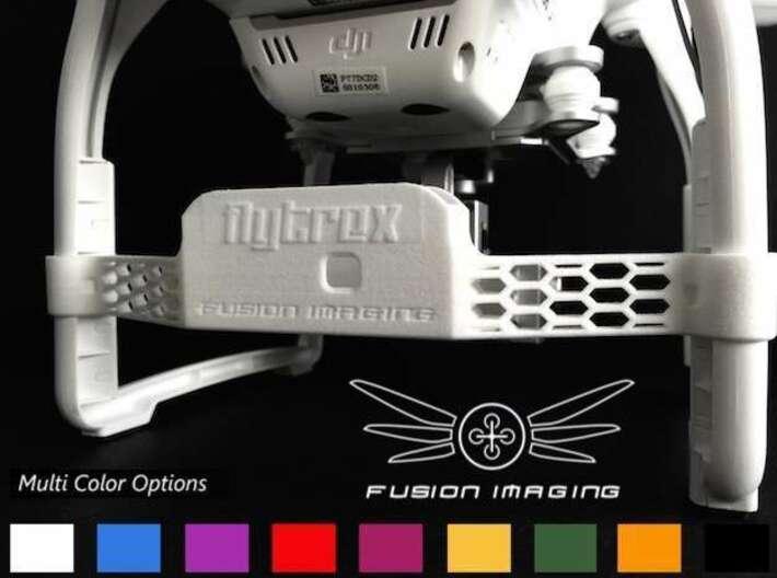 Flytrex Live / Live 3G Mount For DJI Phantom 3 3d printed Flytrex Live Mount For DJI Phantom 3