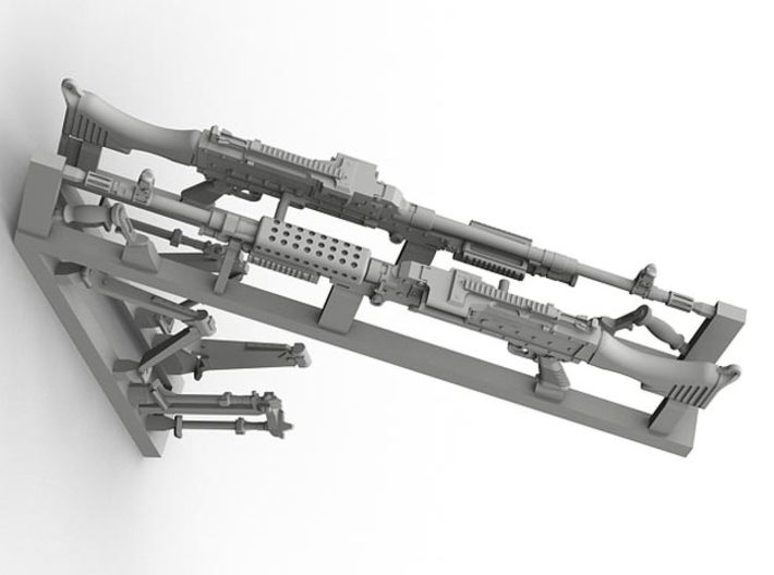 1/32 SPM-32-003 m240 machine gun 3d printed