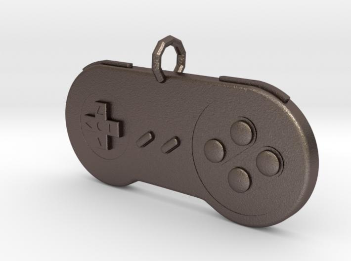 Super Nintendo Controller pendant 3d printed