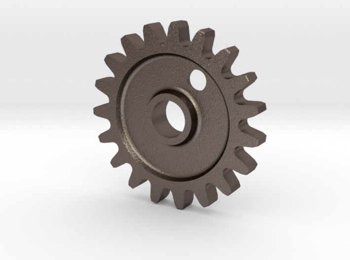 Cog Gear Key Chain / Pendant 3d printed