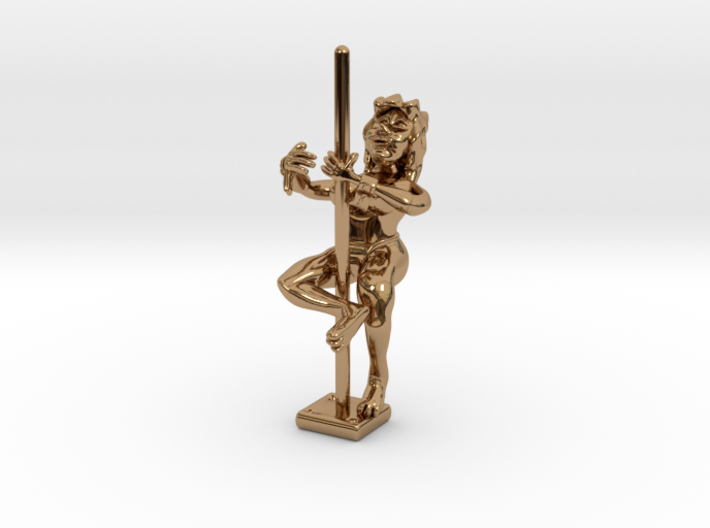 Brass Dancer 3d printed