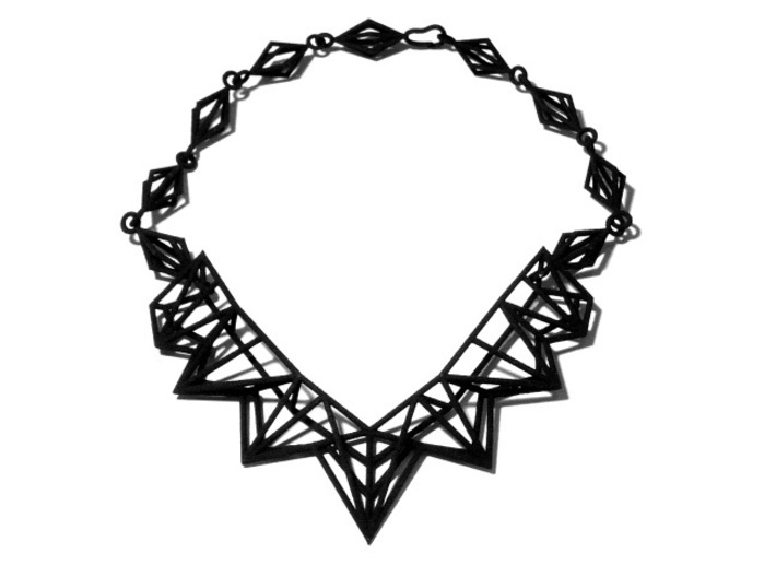 Radical Necklace 3d printed