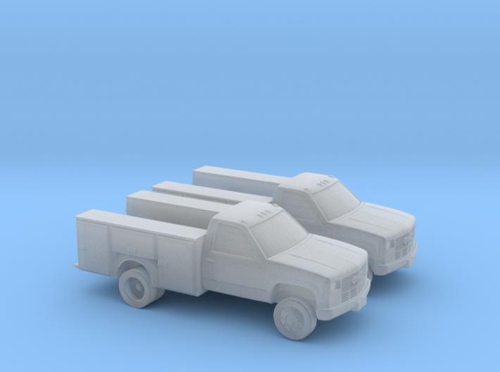 1/160 2X GMC Service Truck 3d printed
