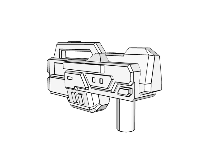 """COREBLOCK"" Transformers Weapons Set (5mm post) 3d printed"