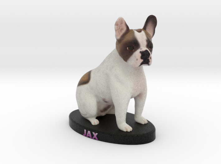 Custom Dog Figurine - Jax 3d printed