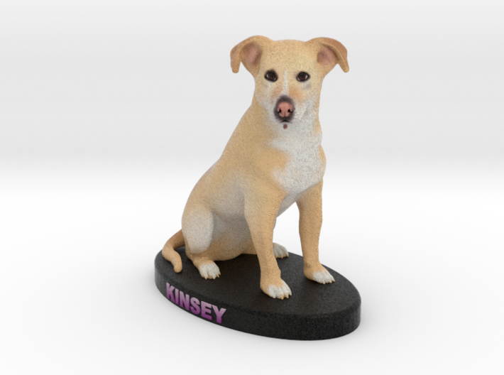 Custom Dog Figurine - Kinsey 3d printed