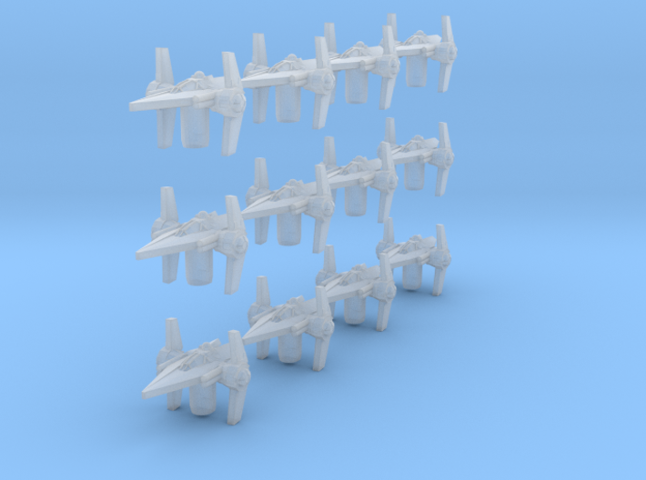 Arm 12 V Fighter 3d printed