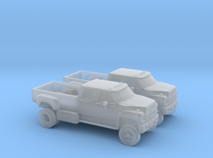 1/160 2X 1980-90 Ford F650 3d printed