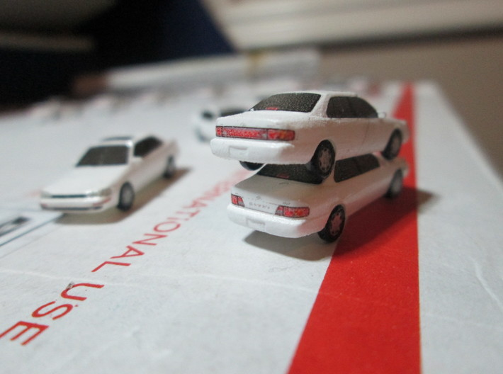 n scale 1992-1996 toyota camry 3d printed top: 94 bottom: 96