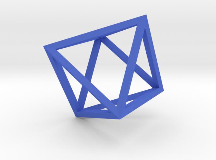 Octahedron(Leonardo-style model) 3d printed