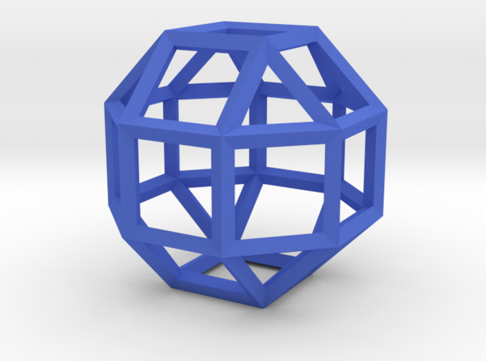 Rhombicuboctahedron(Leonardo-style model) 3d printed