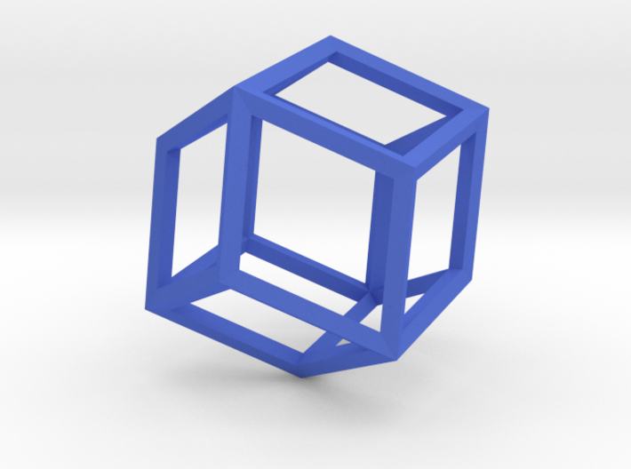 Rhombic Dodecahedron(Leonardo-style model) 3d printed