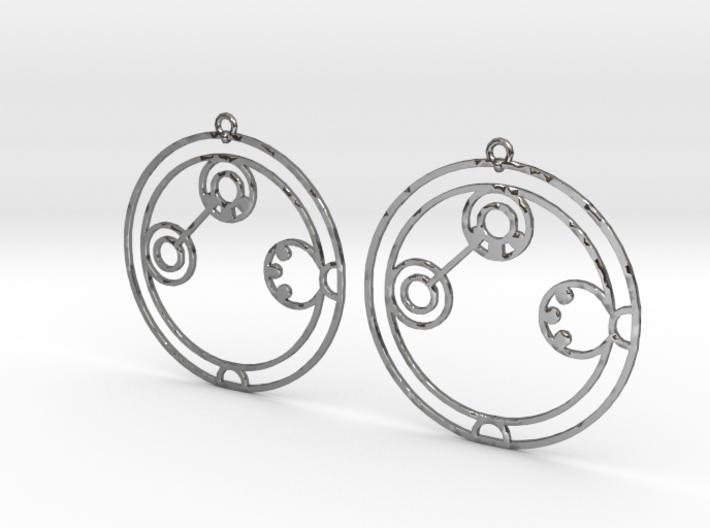 Adaline - Earrings - Series 1 3d printed