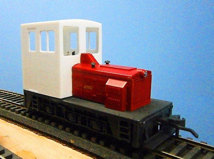 F Scale critter cab 3d printed Front View