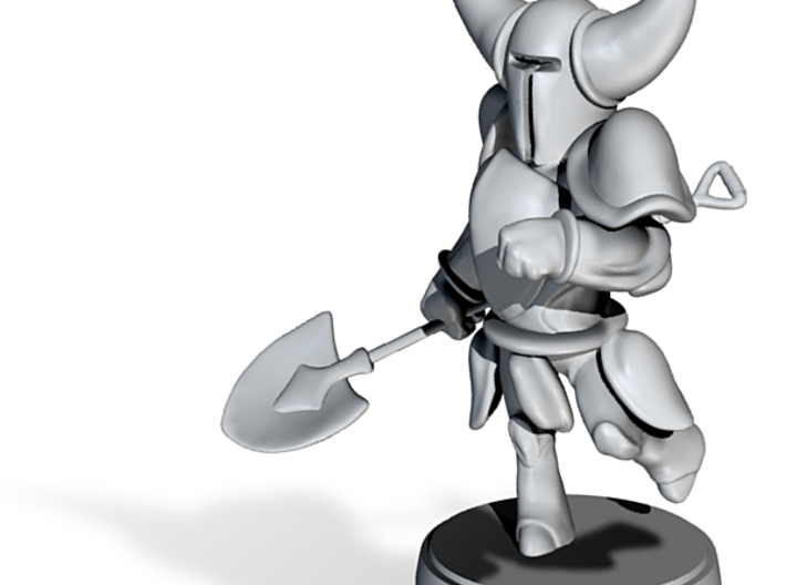 Shovel Knight Amiibo 3d printed