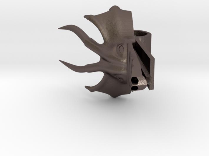 Tie Clip Dragon Version 2 3d printed