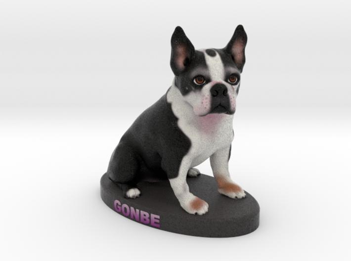 Custom Dog Figurine - Gonbe 3d printed