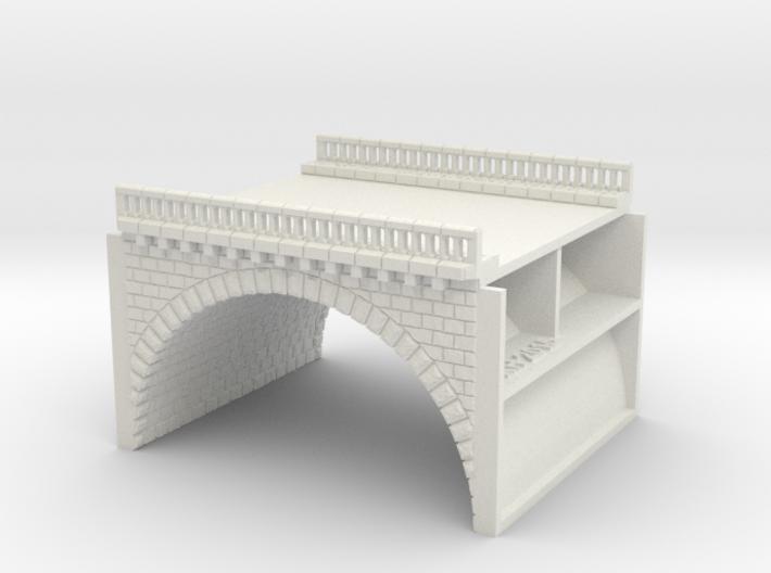 NV2M1 Modular viaduct 2 tracks 3d printed