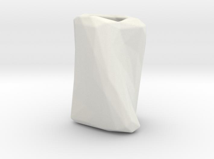 Crumpled Paper Vase 3d printed