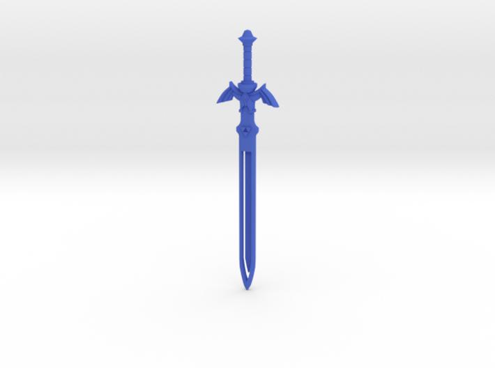 Zelda Master Sword Bookmark 3d printed