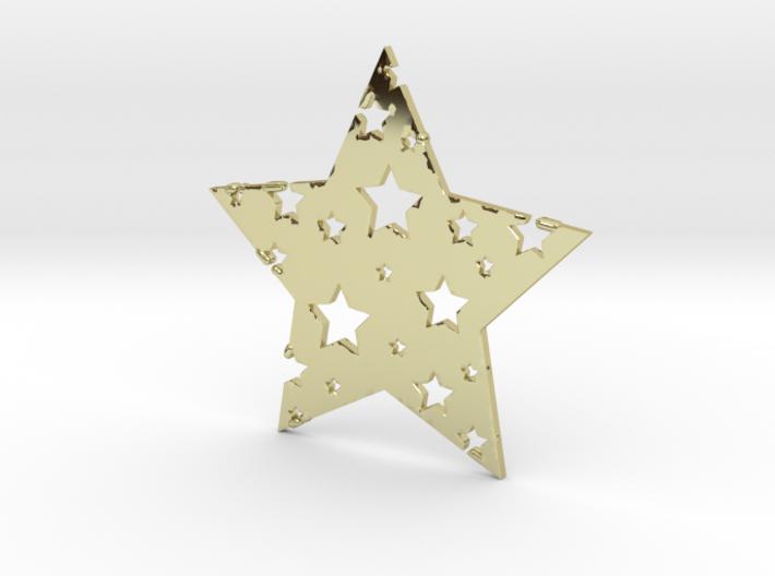 Funky Star 3d printed