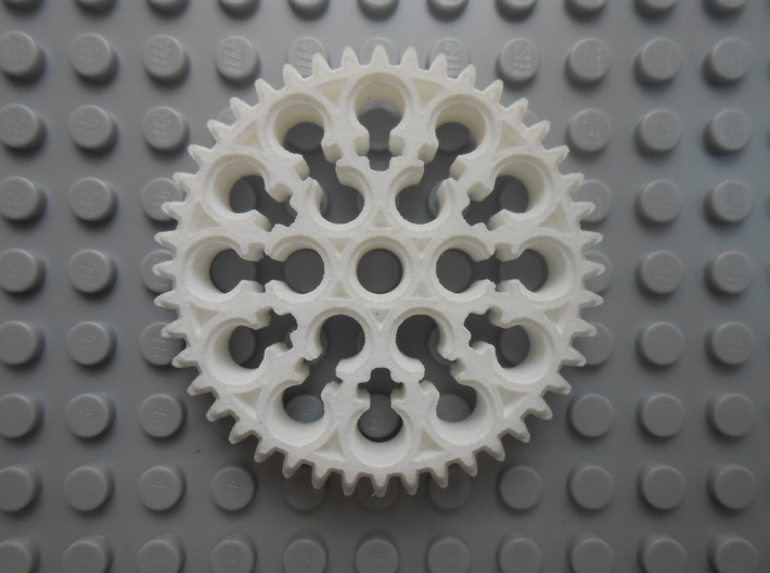LEGO®-compatible alt  44-tooth bevel gear R2