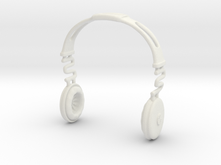 Headphones BOSS Version: BJD Doll SD Third size 3d printed