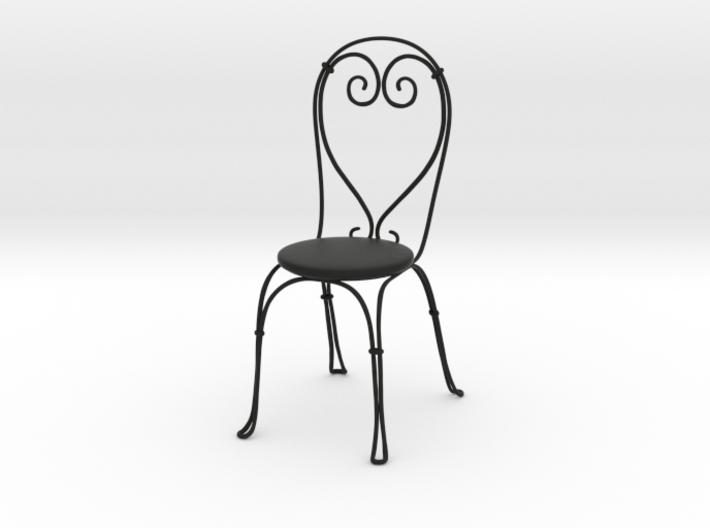 Vintage Cafe chair 3d printed
