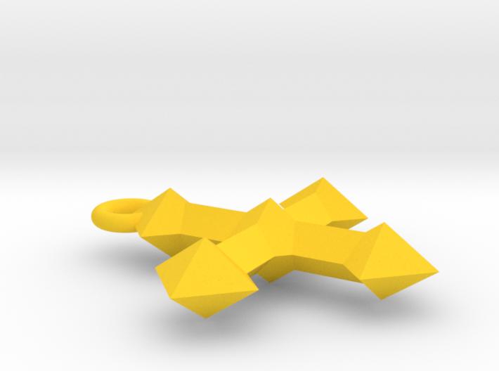 Crest Pendant 3d printed