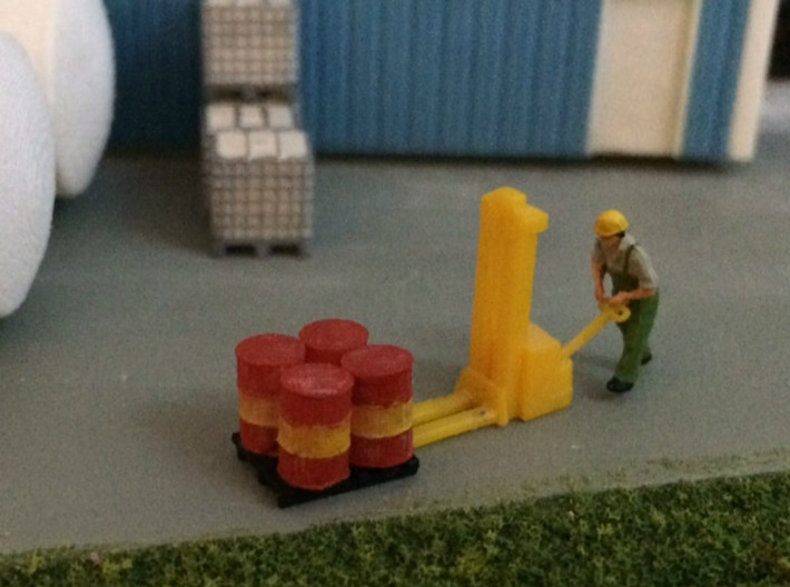 N Scale 55 Gallon Drums 10pc 3d printed